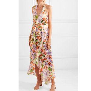 Alice + Olivia Evelia floral georgette dress 2/4